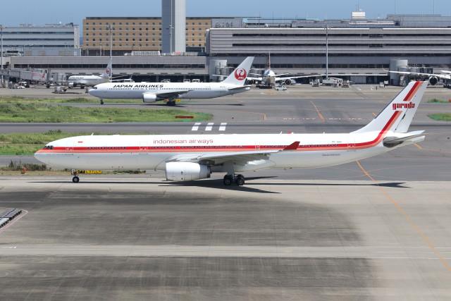 utarou on NRTさんが、羽田空港で撮影したガルーダ・インドネシア航空 A330-343Xの航空フォト(飛行機 写真・画像)