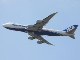 BOEING737MAX-8さんが、成田国際空港で撮影した日本貨物航空 747-8KZF/SCDの航空フォト(飛行機 写真・画像)