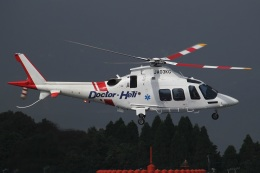 MOR1(新アカウント)さんが、鹿児島空港で撮影した鹿児島国際航空 AW109SPの航空フォト(飛行機 写真・画像)
