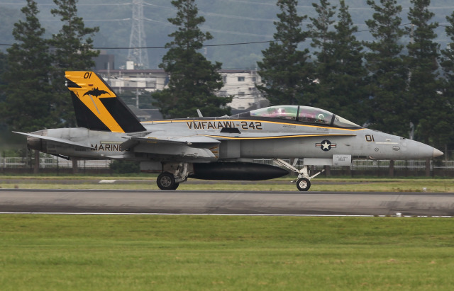 Menokkuさんが、横田基地で撮影したアメリカ海兵隊 F/A-18D Hornetの航空フォト(飛行機 写真・画像)
