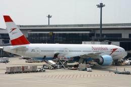 Hiro-hiroさんが、成田国際空港で撮影したオーストリア航空 777-2Z9/ERの航空フォト(飛行機 写真・画像)