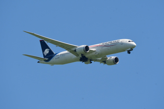 rangeroverさんが、成田国際空港で撮影したアエロメヒコ航空 787-9の航空フォト(飛行機 写真・画像)