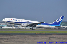 れんしさんが、福岡空港で撮影した全日空 777-281の航空フォト(飛行機 写真・画像)