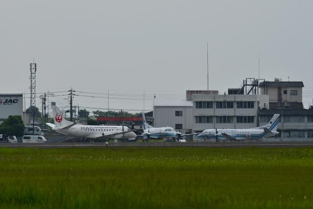 HS888さんが、鹿児島空港で撮影した北海道エアシステム 340B/Plusの航空フォト(飛行機 写真・画像)