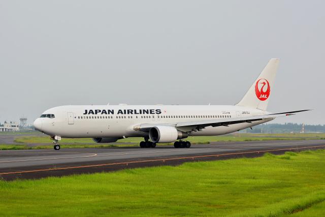HS888さんが、鹿児島空港で撮影した日本航空 767-346/ERの航空フォト(飛行機 写真・画像)