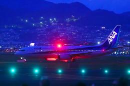 はち丸さんが、伊丹空港で撮影した全日空 737-881の航空フォト(飛行機 写真・画像)