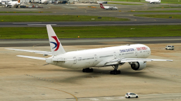 FlyingMonkeyさんが、シドニー国際空港で撮影した中国東方航空 777-39P/ERの航空フォト(飛行機 写真・画像)