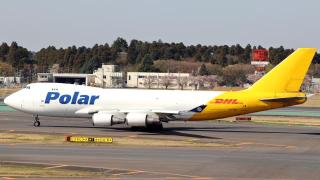 誘喜さんが、成田国際空港で撮影したポーラーエアカーゴ 747-45EF/SCDの航空フォト(飛行機 写真・画像)