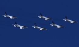 Lead Soloさんが、入間飛行場で撮影した航空自衛隊 T-4の航空フォト(飛行機 写真・画像)