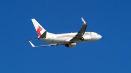 FlyingMonkeyさんが、シドニー国際空港で撮影したニューギニア航空 737-7L9の航空フォト(飛行機 写真・画像)
