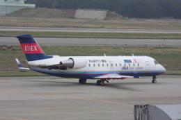 プルシアンブルーさんが、小松空港で撮影したアイベックスエアラインズ CL-600-2B19 Regional Jet CRJ-100LRの航空フォト(飛行機 写真・画像)
