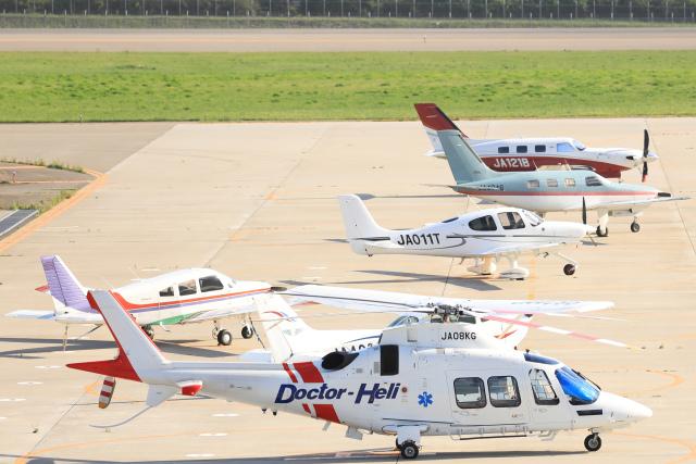 syo12さんが、函館空港で撮影した日本法人所有 AW109SP GrandNewの航空フォト(飛行機 写真・画像)