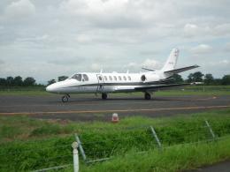 ヒコーキグモさんが、岡南飛行場で撮影した岡山航空 560 Citation Ultraの航空フォト(飛行機 写真・画像)