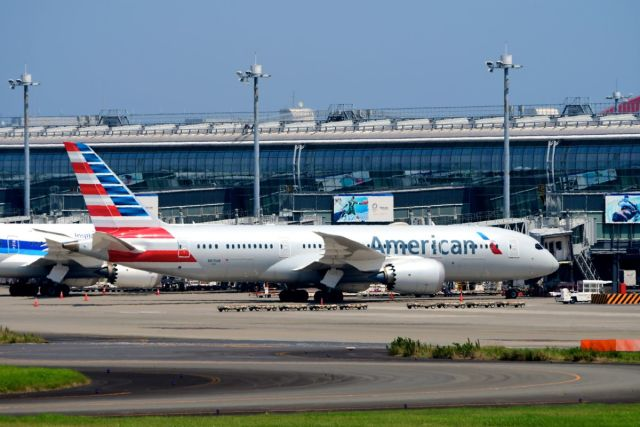 まいけるさんが、羽田空港で撮影したアメリカン航空 787-8 Dreamlinerの航空フォト(飛行機 写真・画像)