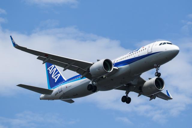 @taiga_mainさんが、羽田空港で撮影した全日空 A320-271Nの航空フォト(飛行機 写真・画像)