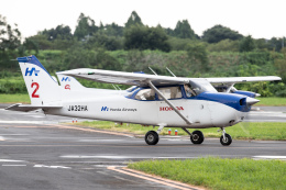 KANTO61さんが、ホンダエアポートで撮影した本田航空 172S Skyhawk SPの航空フォト(飛行機 写真・画像)