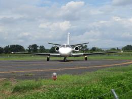 F.YUKIHIDEさんが、岡南飛行場で撮影した岡山航空 560 Citation Ultraの航空フォト(飛行機 写真・画像)