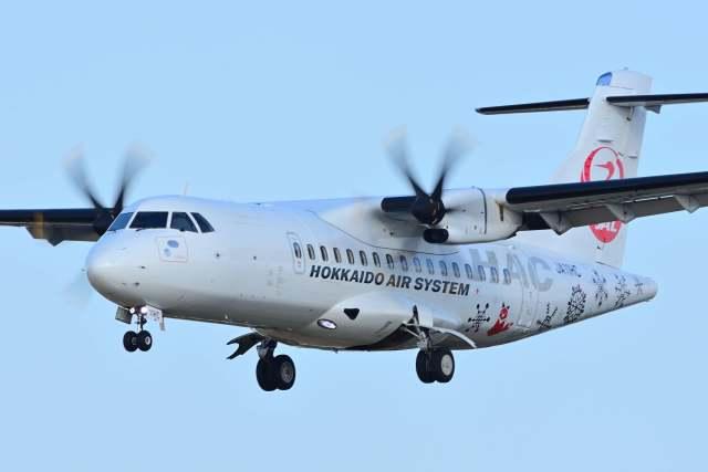 TeaYouさんが、札幌飛行場で撮影した北海道エアシステム ATR-42-600の航空フォト(飛行機 写真・画像)