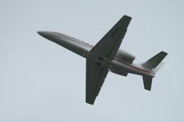 hikanagiさんが、秋田空港で撮影した朝日航洋 680 Citation Sovereignの航空フォト(飛行機 写真・画像)
