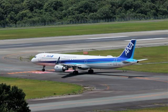 ヒロジーさんが、広島空港で撮影した全日空 A321-211の航空フォト(飛行機 写真・画像)