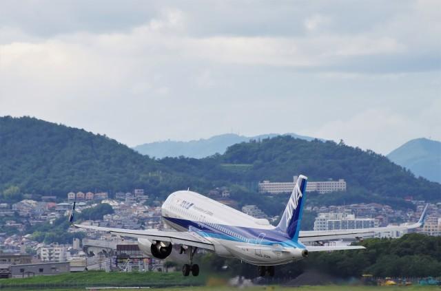 mild lifeさんが、伊丹空港で撮影した全日空 A320-271Nの航空フォト(飛行機 写真・画像)
