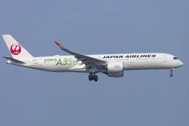 mameshibaさんが、羽田空港で撮影した日本航空 A350-941の航空フォト(飛行機 写真・画像)