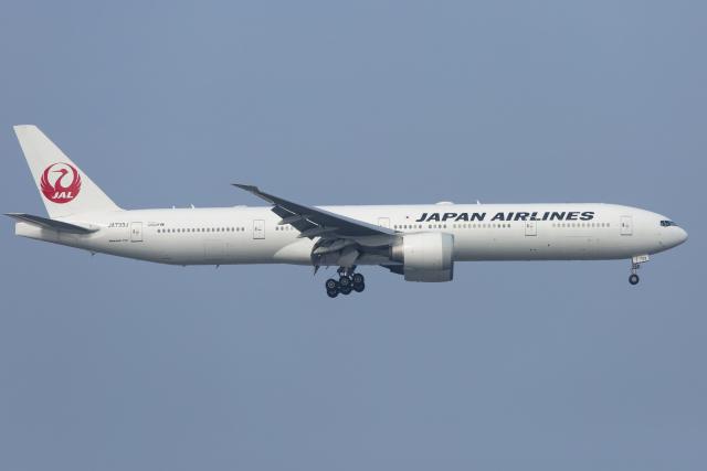 mameshibaさんが、羽田空港で撮影した日本航空 777-346/ERの航空フォト(飛行機 写真・画像)