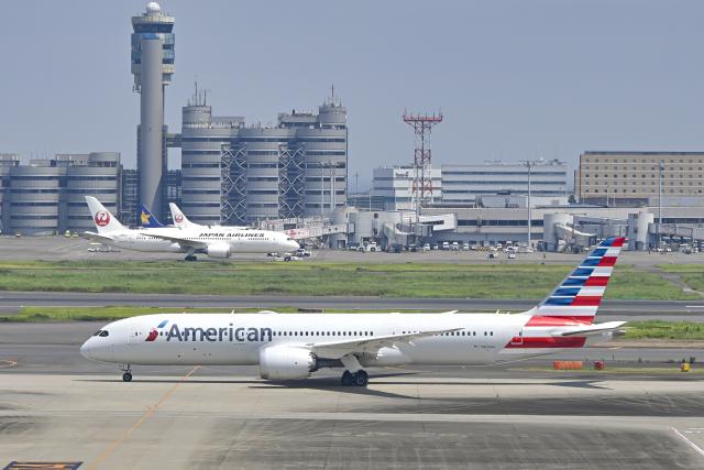 bakurochoさんが、羽田空港で撮影したアメリカン航空 787-9の航空フォト(飛行機 写真・画像)