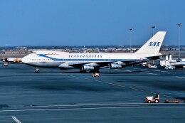 パール大山さんが、ジョン・F・ケネディ国際空港で撮影したスカンジナビア航空 747-283Bの航空フォト(飛行機 写真・画像)