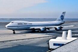 パール大山さんが、ジョン・F・ケネディ国際空港で撮影したパンアメリカン航空 747-123(SF)の航空フォト(飛行機 写真・画像)