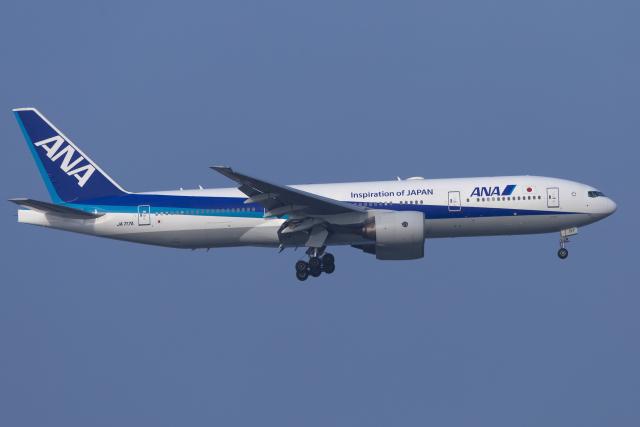 mameshibaさんが、羽田空港で撮影した全日空 777-281/ERの航空フォト(飛行機 写真・画像)