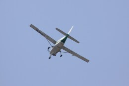 けいとパパさんが、東京都内上空で撮影した共立航空撮影 208 Caravan Iの航空フォト(飛行機 写真・画像)