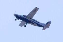 けいとパパさんが、東京都内上空で撮影した共立航空撮影 208B Grand Caravanの航空フォト(飛行機 写真・画像)