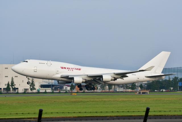 チョロ太さんが、横田基地で撮影したカリッタ エア 747-246Fの航空フォト(飛行機 写真・画像)