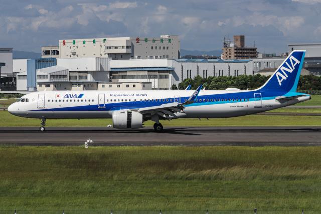 A.Tさんが、伊丹空港で撮影した全日空 A321-272Nの航空フォト(飛行機 写真・画像)