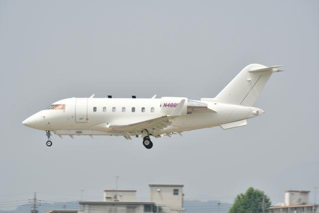 チョロ太さんが、横田基地で撮影した不明 CL-600-2B16 Challenger 601-3A-ERの航空フォト(飛行機 写真・画像)