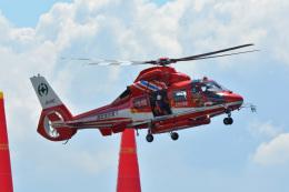SKY☆101さんが、幕張海浜公園で撮影した千葉市消防航空隊 AS365N3 Dauphin 2の航空フォト(飛行機 写真・画像)
