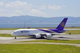 Gambardierさんが、関西国際空港で撮影したタイ国際航空 A380-841の航空フォト(飛行機 写真・画像)