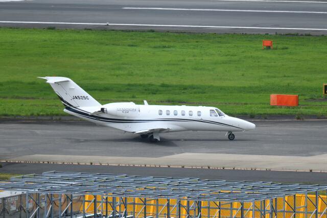 ポン太さんが、成田国際空港で撮影したオートパンサー 525A Citation CJ2の航空フォト(飛行機 写真・画像)