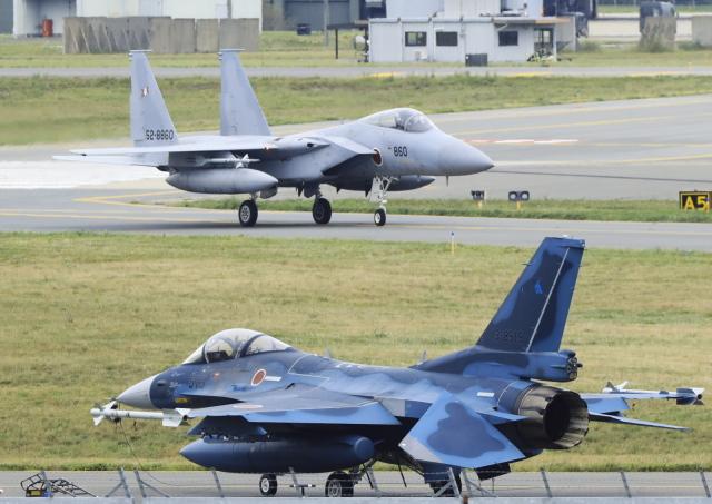 はち丸さんが、三沢飛行場で撮影した航空自衛隊 F-15J Eagleの航空フォト(飛行機 写真・画像)