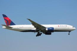 cassiopeiaさんが、成田国際空港で撮影したデルタ航空 777-232/LRの航空フォト(飛行機 写真・画像)