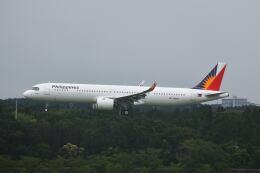 ポン太さんが、成田国際空港で撮影したフィリピン航空 A321-271NXの航空フォト(飛行機 写真・画像)