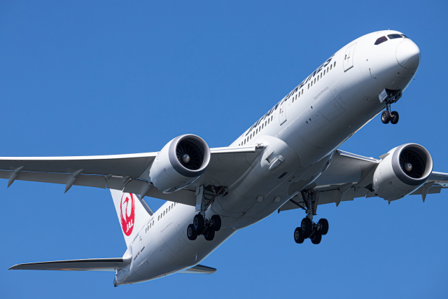 SGR RT 改さんが、羽田空港で撮影した日本航空 787-9の航空フォト(飛行機 写真・画像)