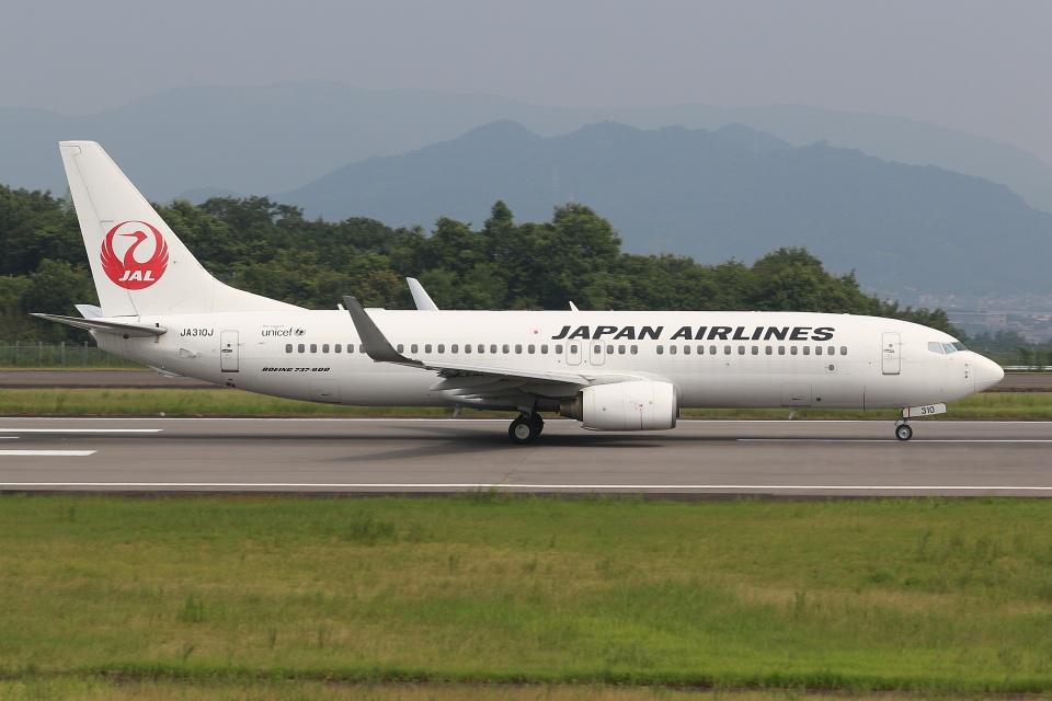 ぽんさんの日本航空 Boeing 737-800 (JA310J) 航空フォト