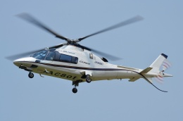 ブルーさんさんが、静岡ヘリポートで撮影した小川航空 A109E Powerの航空フォト(飛行機 写真・画像)