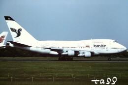 tassさんが、成田国際空港で撮影したイラン航空 747SP-86の航空フォト(飛行機 写真・画像)