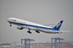 turenoアカクロさんが、羽田空港で撮影した全日空 777-381の航空フォト(飛行機 写真・画像)