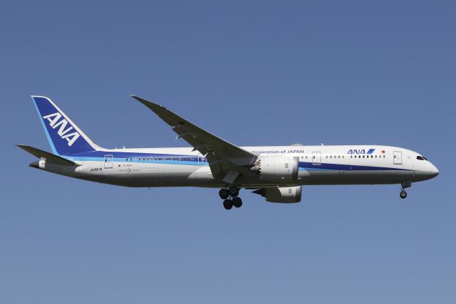 航空フォト:JA887A 全日空