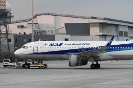 おかめさんが、羽田空港で撮影した全日空 A320-271Nの航空フォト(飛行機 写真・画像)