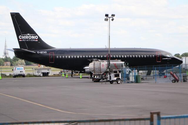 JETBIRDさんが、モントリオール・サンユーベル空港で撮影したクロノ・アヴィエーション 737-219C/Advの航空フォト(飛行機 写真・画像)